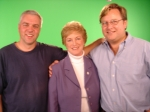 During the shooting of one of our spots for CT Governor Rell's 2006 race.